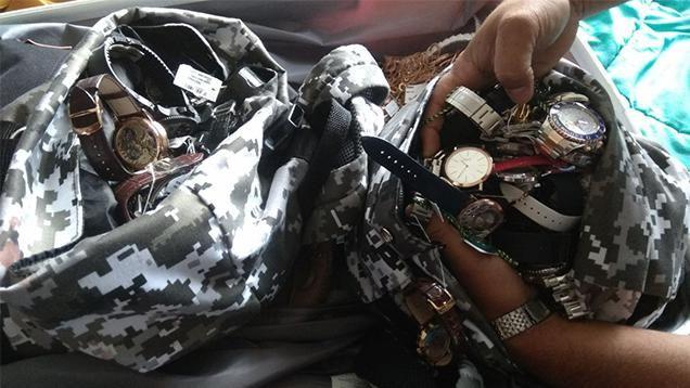 Hallaron todo el botín robado a la joyería del Conrad y hay 2 detenidos más