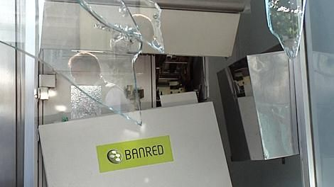 Banred retirará el dinero de varios cajeros automáticos durante la noche