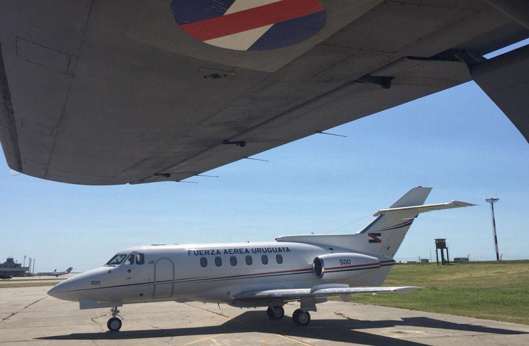 El avión presidencial viajó a Florianópolis en misión sanitaria de urgencia