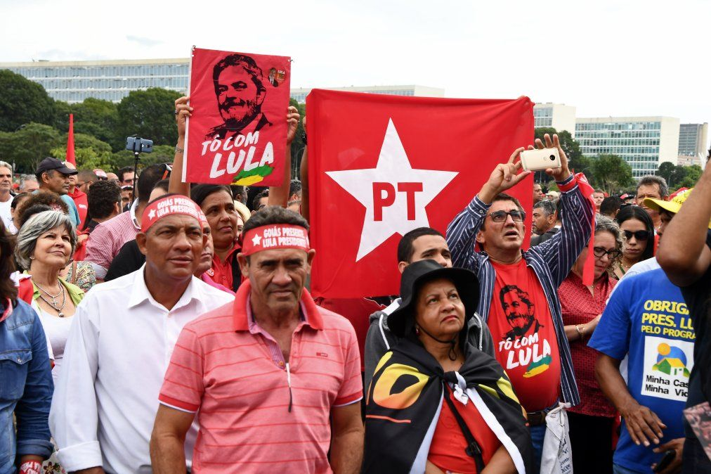 Manifestaciones de respaldo y en rechazo a Lula en Brasil