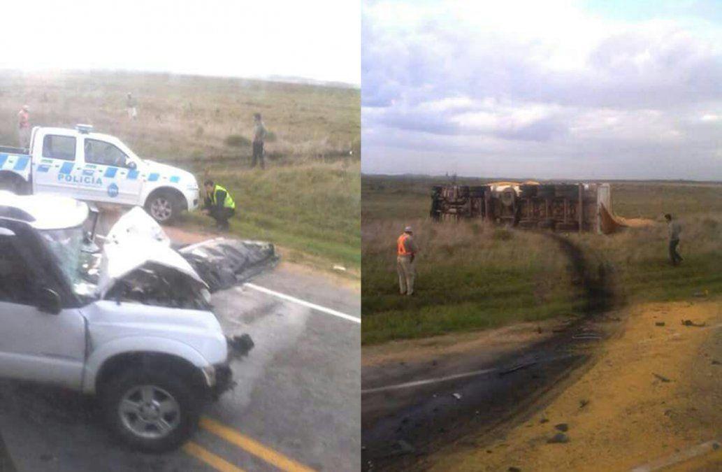 Dos personas fallecidas esta mañana en accidentes en rutas nacionales