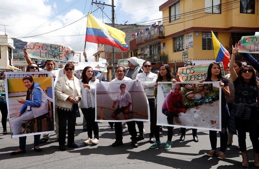 Confirman el asesinato de los tres periodistas ecuatorianos secuestrados