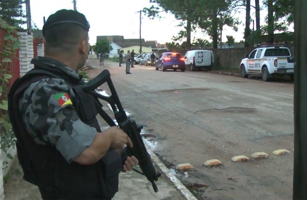 Policía militar de Brasil y Guardia Republicana coordinan acciones en el Chuy