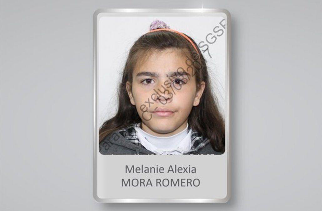 Ministerio del Interior anunció que apareció sana y salva la adolescente Melanie Mora