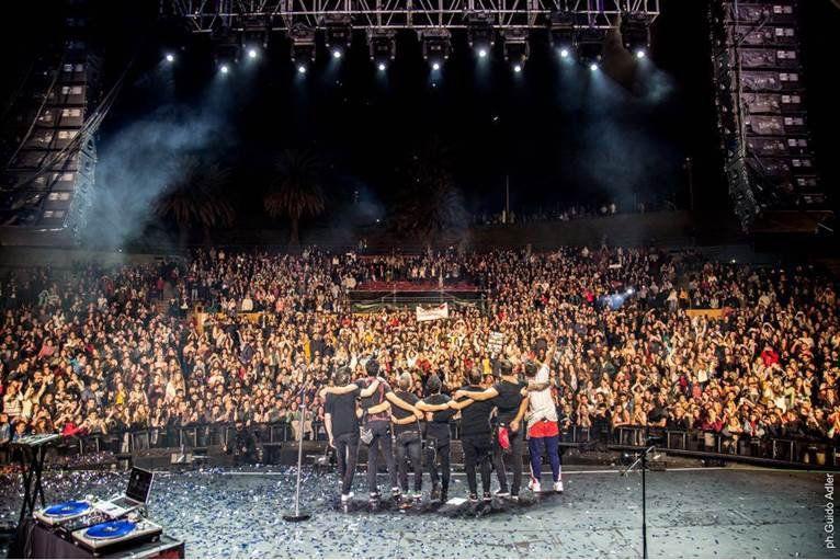 Chano hizo delirar al público uruguayo con un show sorprendente y memorable