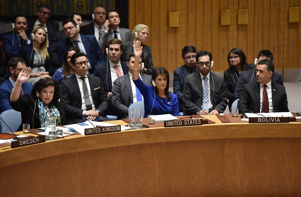 ONU rechazó propuesta de Rusia para condenar ataques occidentales en Siria
