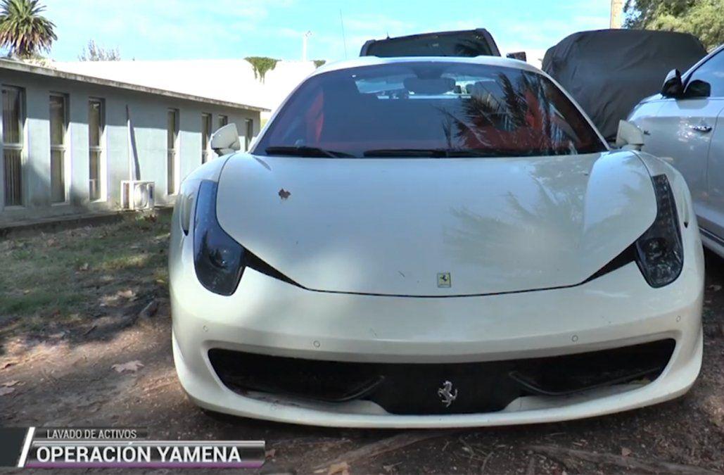 Ferrarivaluada en US$ 640.000 que Aydin manejaba por Malvín Norte.