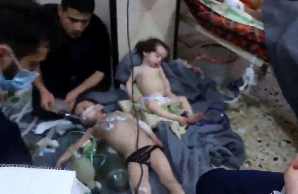 Investigadores empiezan a indagar el presunto ataque químico en Siria