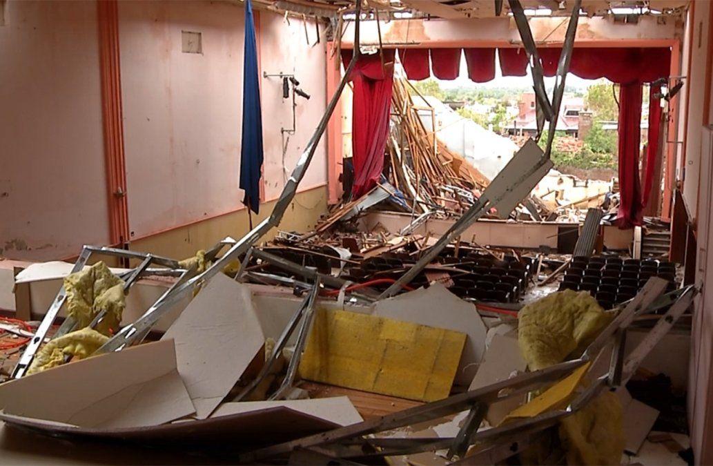 A 2 años del tornado de Dolores, aún hay reconstrucciones pendientes