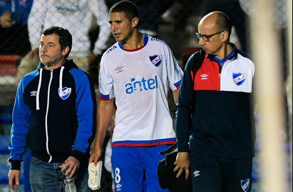 Arismendi se retira lesionado y es duda para el Clásico del 22 de abril