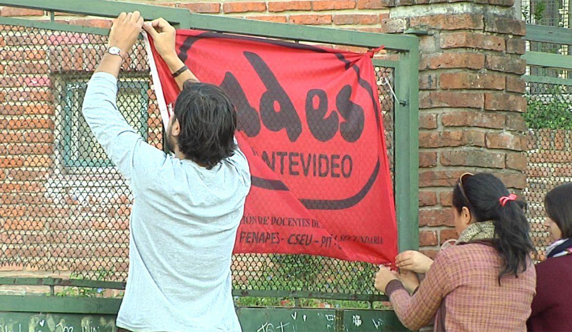 Ocuparon el Liceo 50 de Casabó y mañana ocupan el 72 del Cerro