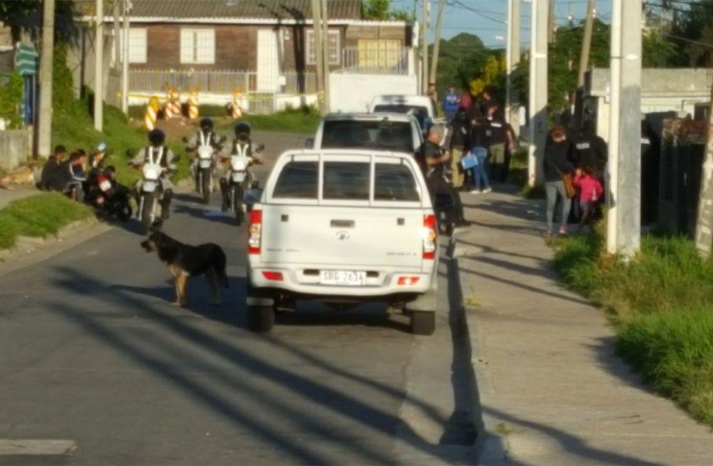 Más de 45 allanamientos en Cerro Norte y servicios públicos cerrados