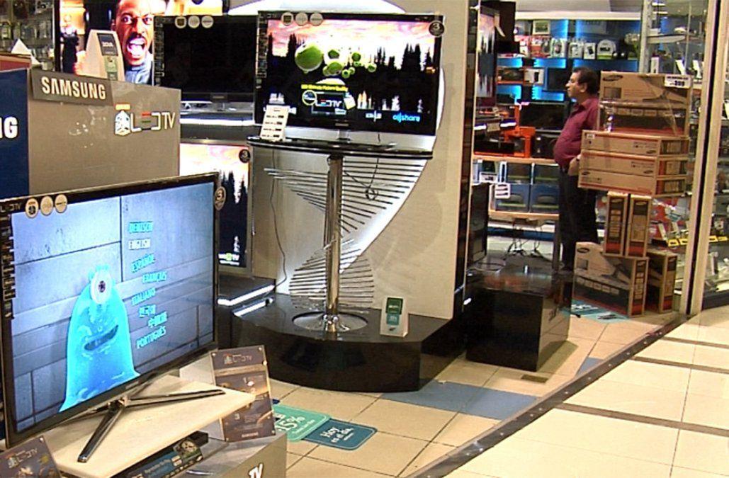 Condenan a un taxista que robaba televisores en los shoppings