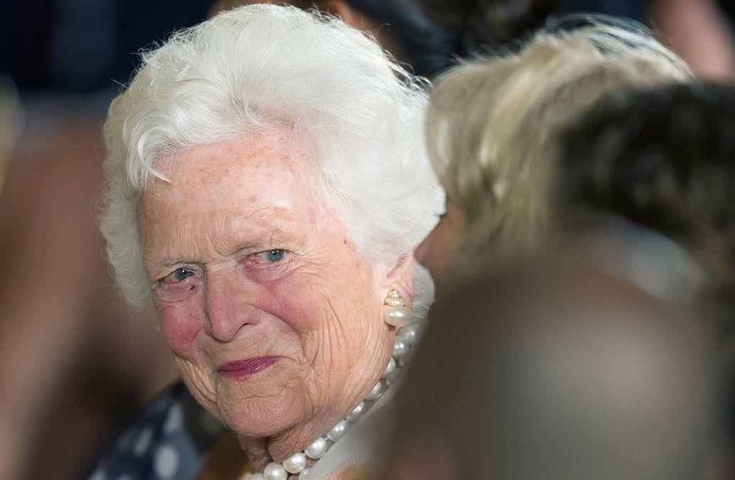 Barbara Bush, pilar de una de las familias más poderosas de EEUU