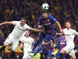 Barcelona ganó la Copa del Rey con dos goles de Suárez