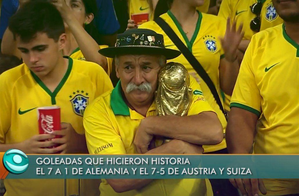 Grandes goleadas que hicieron historia en las Copas del Mundo