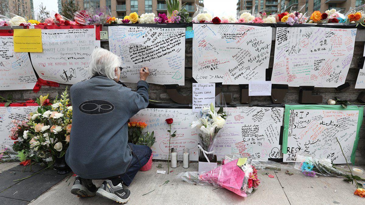 Autor de atropello en Toronto fue acusado de asesinato premeditado