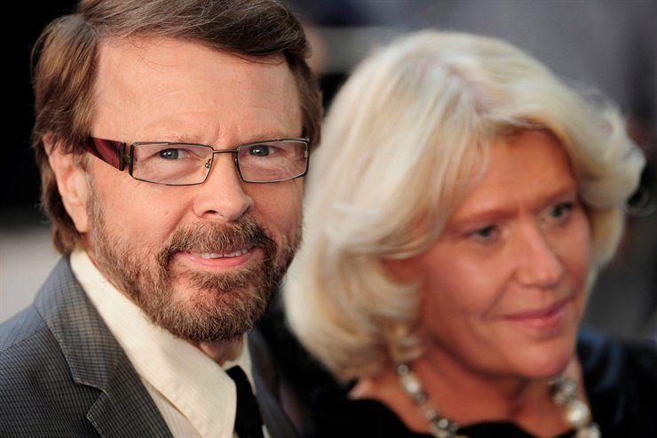 Bjorn y Agnetha actualmente. Tienen 74 y 68 años.