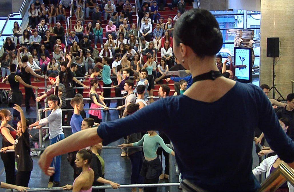 El Ballet del Sodre celebró el Día Internacional de la Danza con un ensayo abierto al público