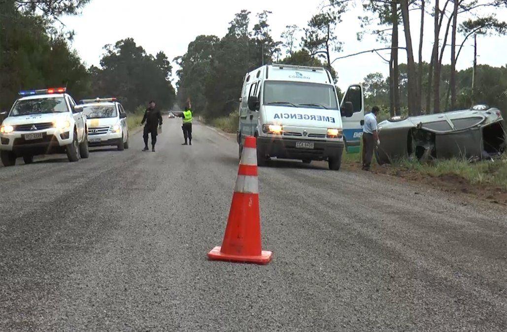 Tres accidentes en tres días en un tramo de tres kilómetros de la ruta 10