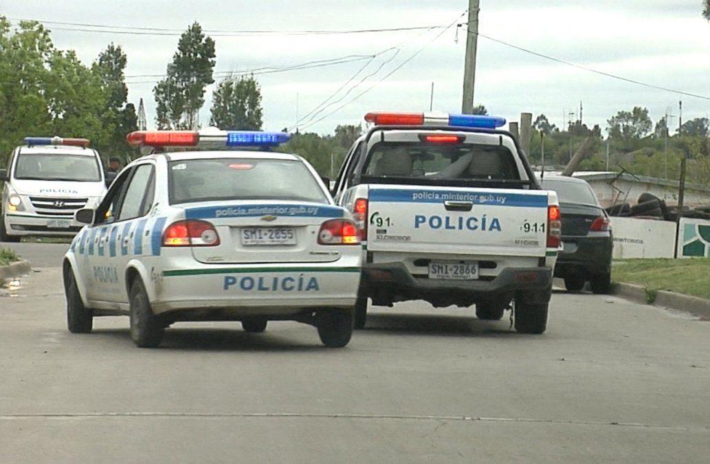 Dos hombres baleados en distintos puntos de Minas durante la noche del martes
