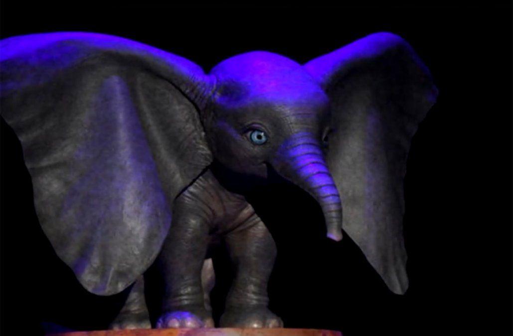 Dumbo, el nuevo elefante de Tim Burton