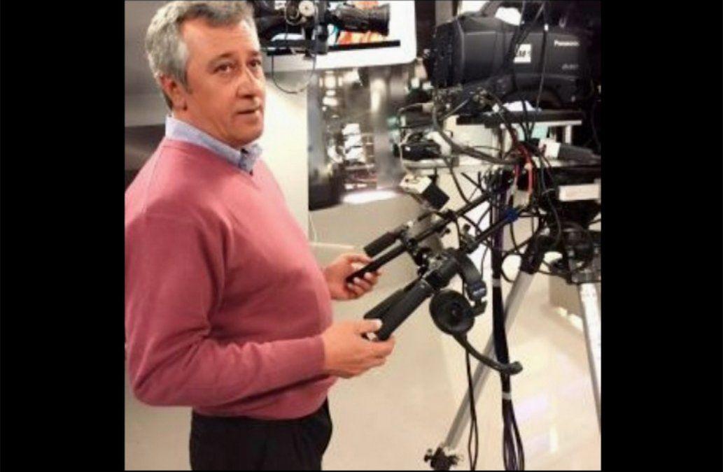 Falleció Silvestre Pintado, histórico camarógrafo de Subrayado
