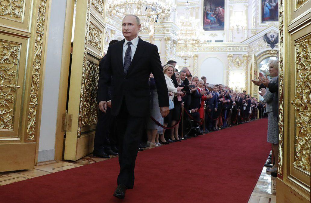 Putin, el zar de la era postsoviética, asume su cuarto mandato