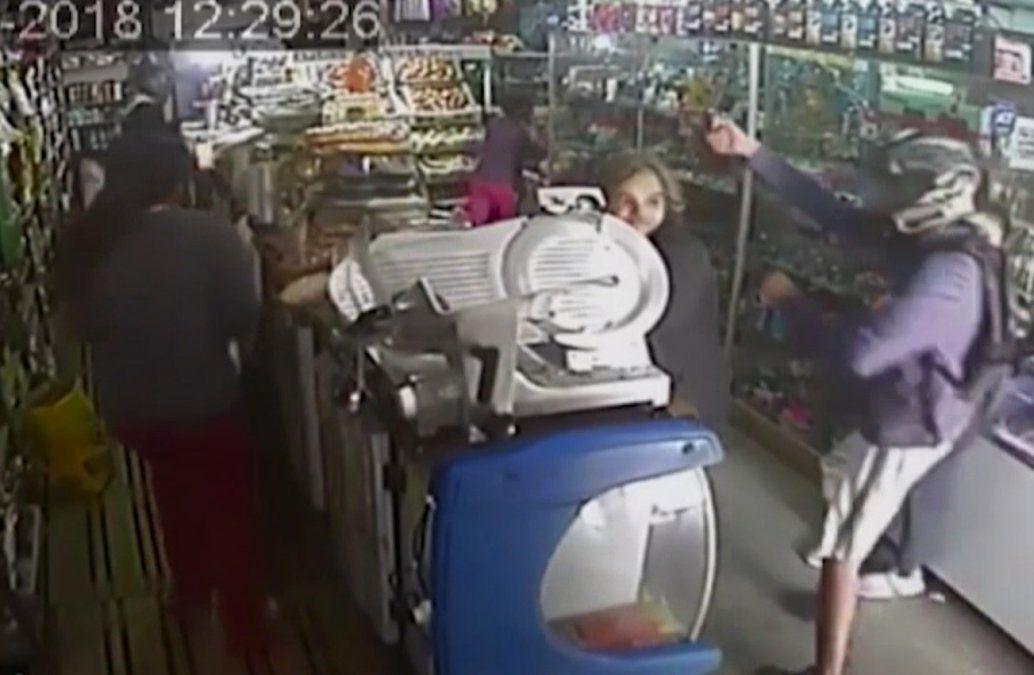 Foto: Captura del video de seguridad