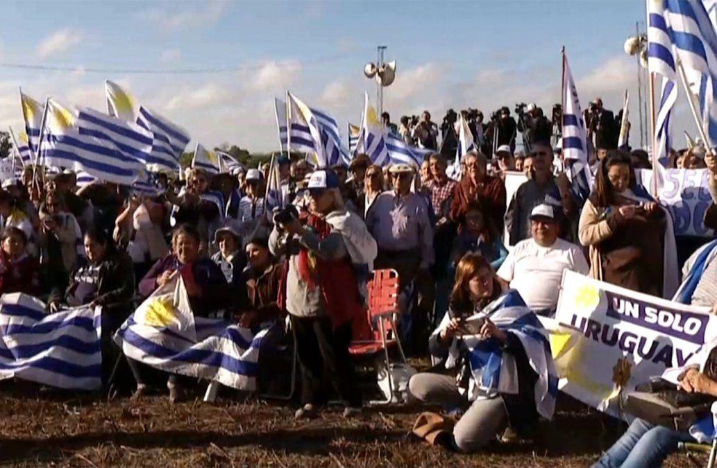 Un Solo Uruguay realizó un contra-acto durante el Consejo de Ministros