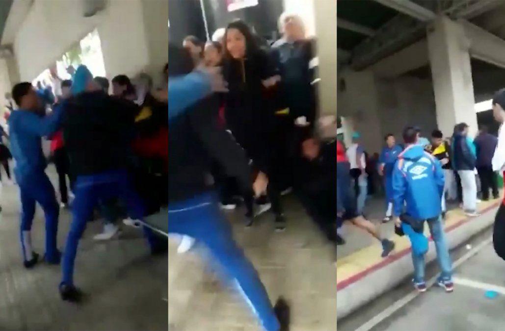 Peñarol evalúa denunciar penalmente la agresión sufrida por hinchas en Belloni