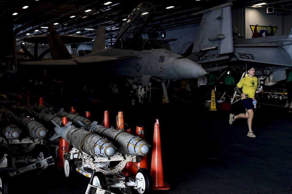 Disparos de misiles iraníes contra posiciones israelíes fueron interceptados