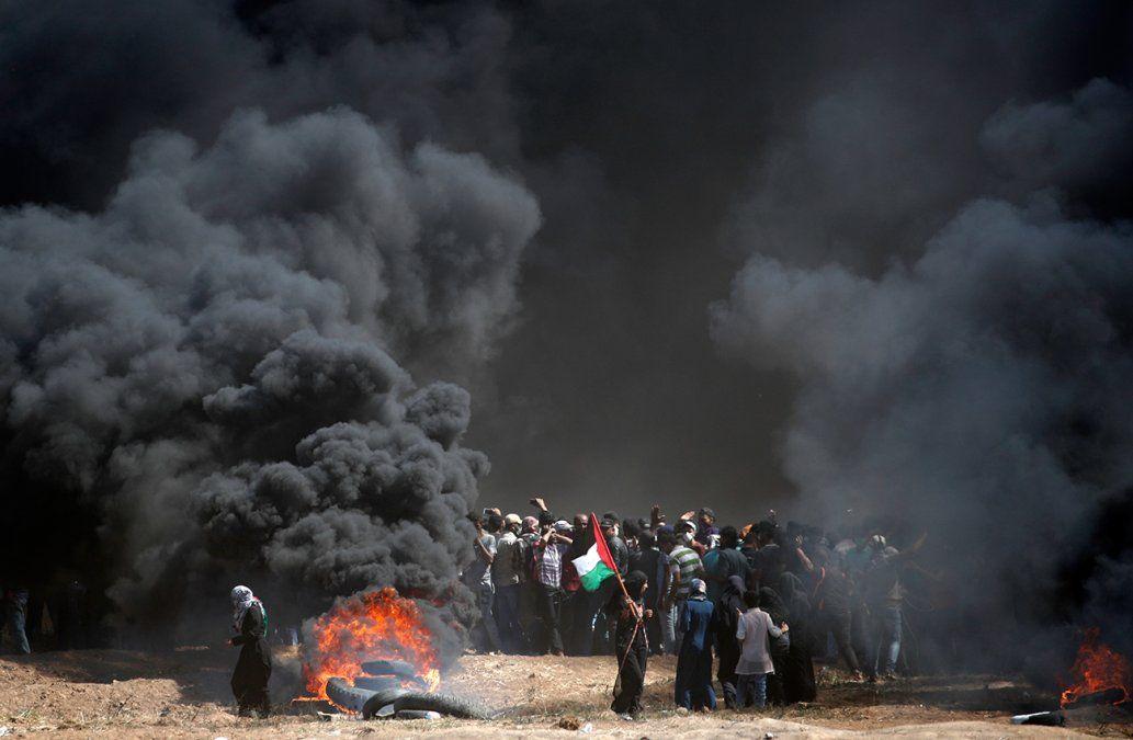 Decenas de palestinos muertos luego del traslado de la embajada de EE.UU a Jerusalén