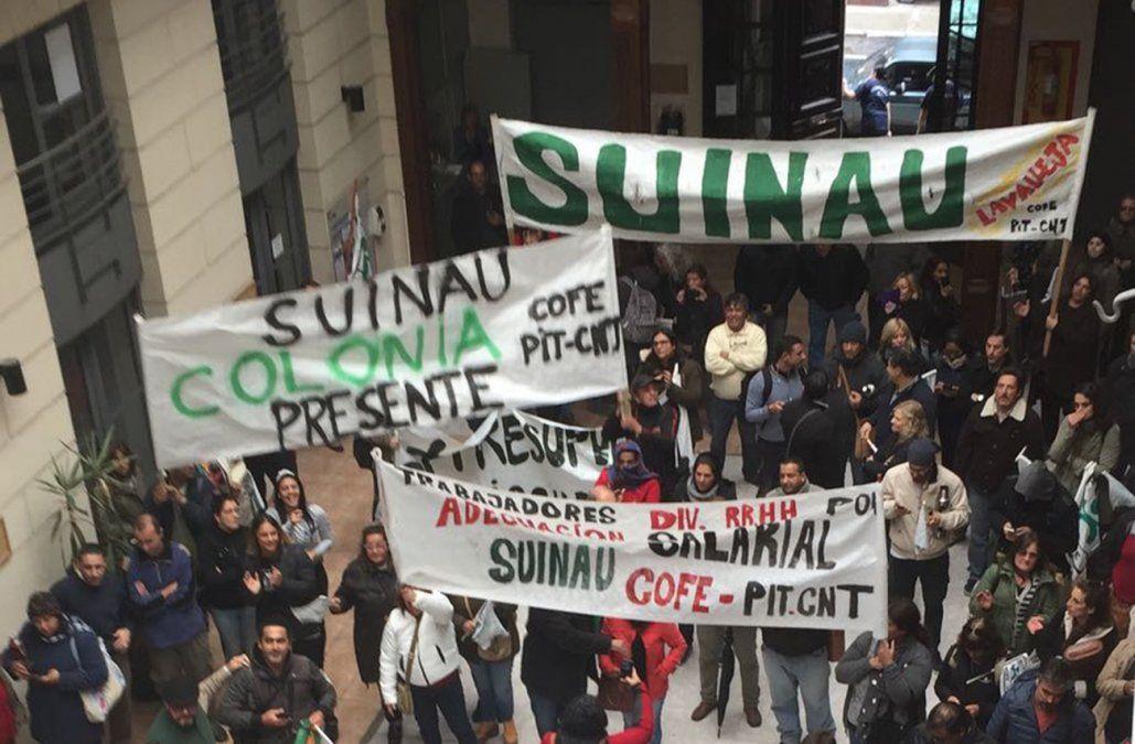 Sindicato ocupó la sede del INAU en reclamo de más presupuesto