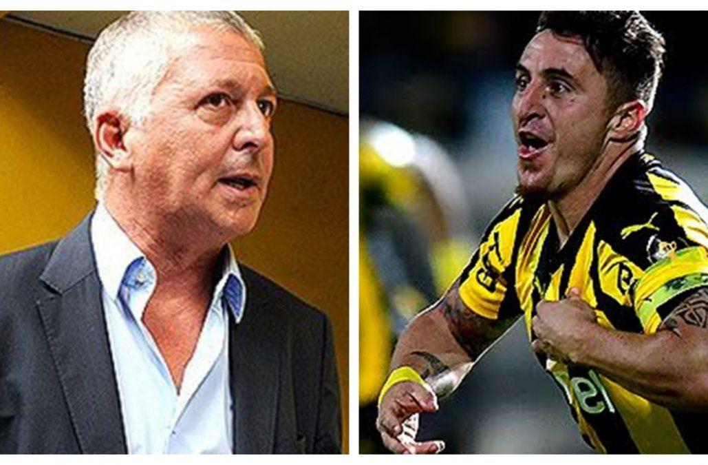 Cebolla Rodríguez y Rodolfo Catino intercambiaron opiniones en público tras la frustración en la Libertadores