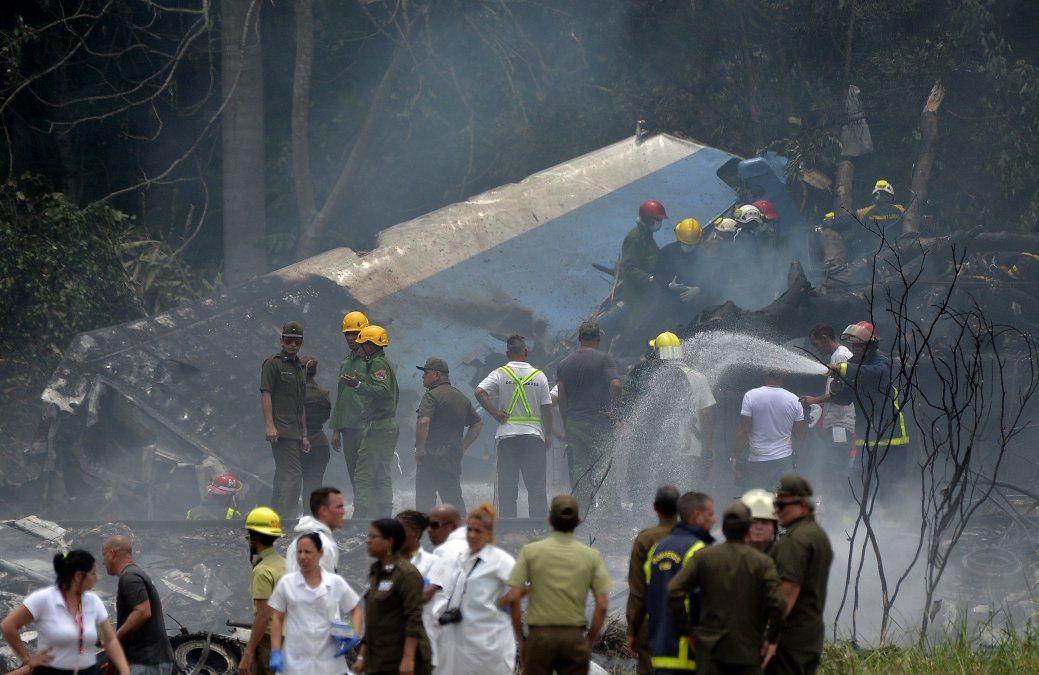 Murió una de las tres sobrevivientes de accidente aéreo en Cuba