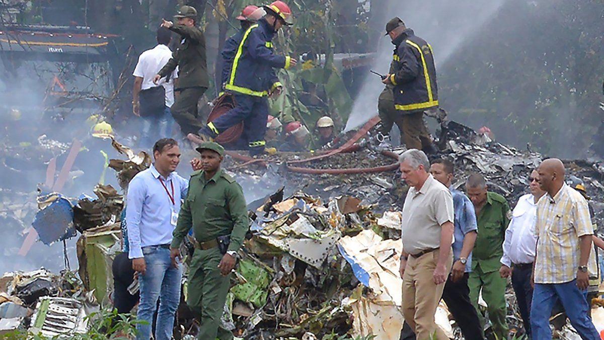 IMÁGENES: accidente aéreo en Cuba