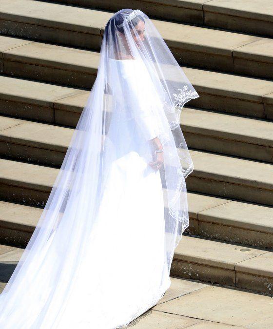 Detalles del vestido de novia de meghan