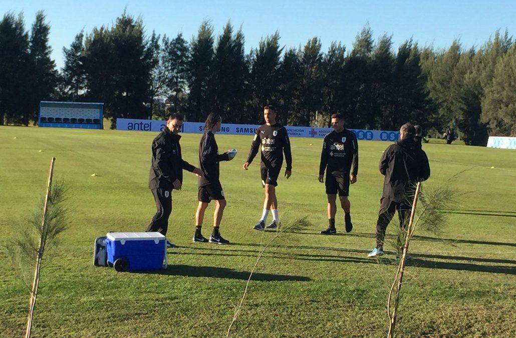 Llegaron más jugadores y comenzaron los entrenamientos de la selección