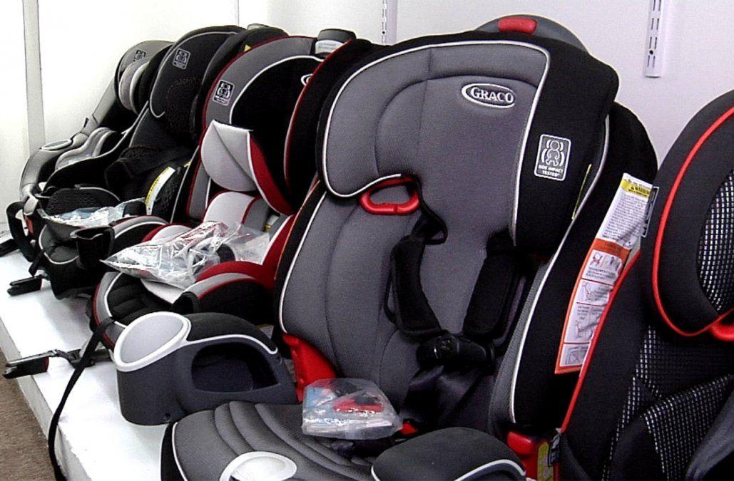 El 57% de los conductores que circula con niños tiene mal instalada la silla infantil