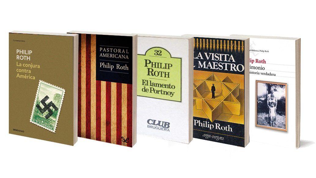 Murió Philip Roth, uno de los grandes novelistas de todos los tiempos