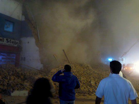 Tres muertos y dos heridos por derrumbe de viejo teatro en Argentina