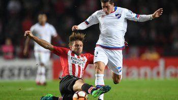 Nacional quedó afuera de la Libertadores tras caer 3-1 ante Estudiantes en La Plata