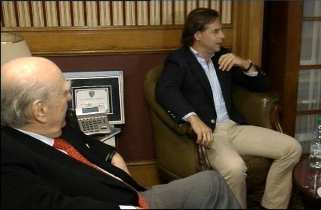 Sanguinetti propuso a Lacalle Pou y a Larrañaga coordinar acciones para ganarle al FA