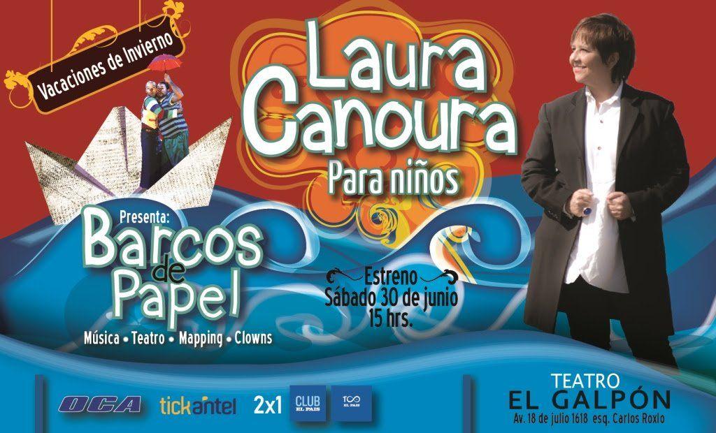 Laura Canoura presentasu espectáculo musical para niños