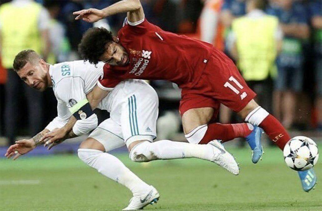 Salah no estará contra Uruguay, según el fisioterapeuta que lo trata en España