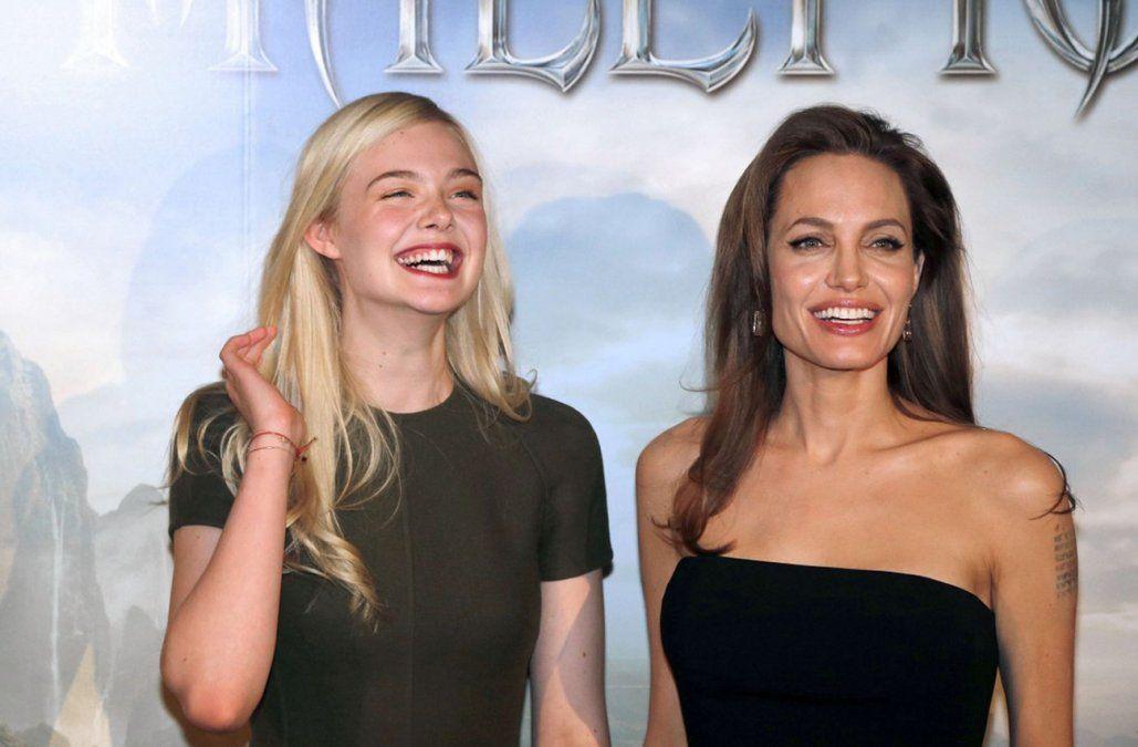 Angelina Jolie y Elle Fanning juntas en la segunda parte de Maléfica