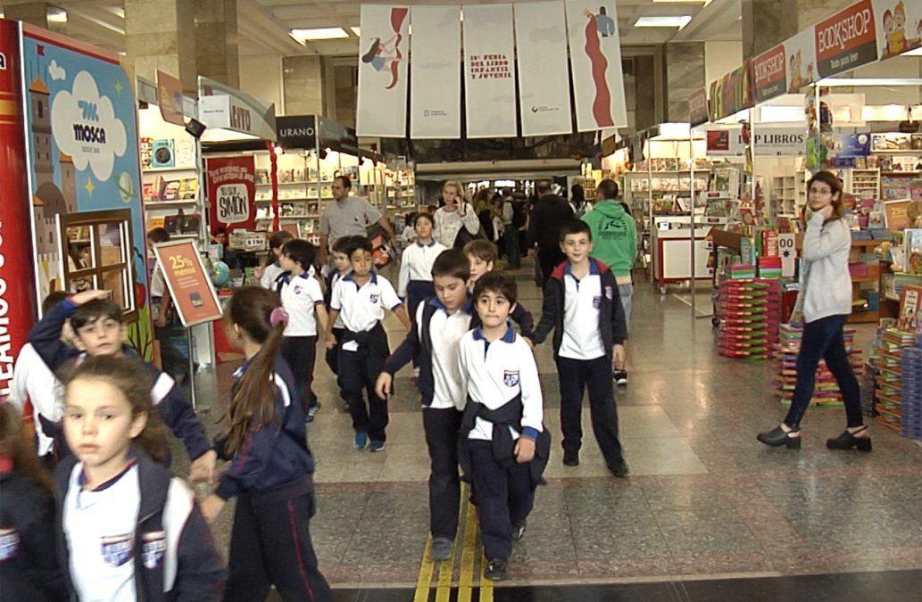 Empezó la 18ª Feria del Libro Infantil y Juvenil en la Intendencia de Montevideo