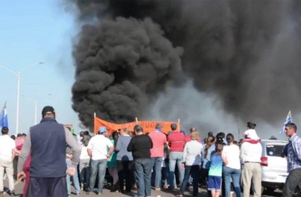 Protesta en Salto el domingo 27 de mayo por la inseguridad.