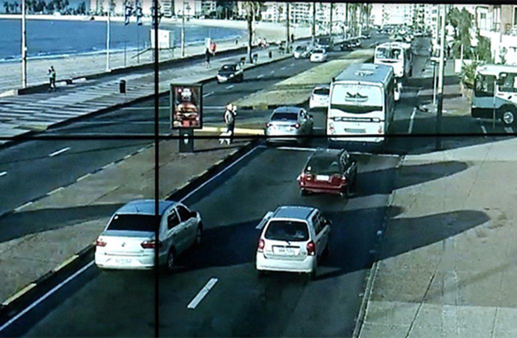 9 de cada 10 montevideanos de acuerdo con las cámaras para controlar el tránsito